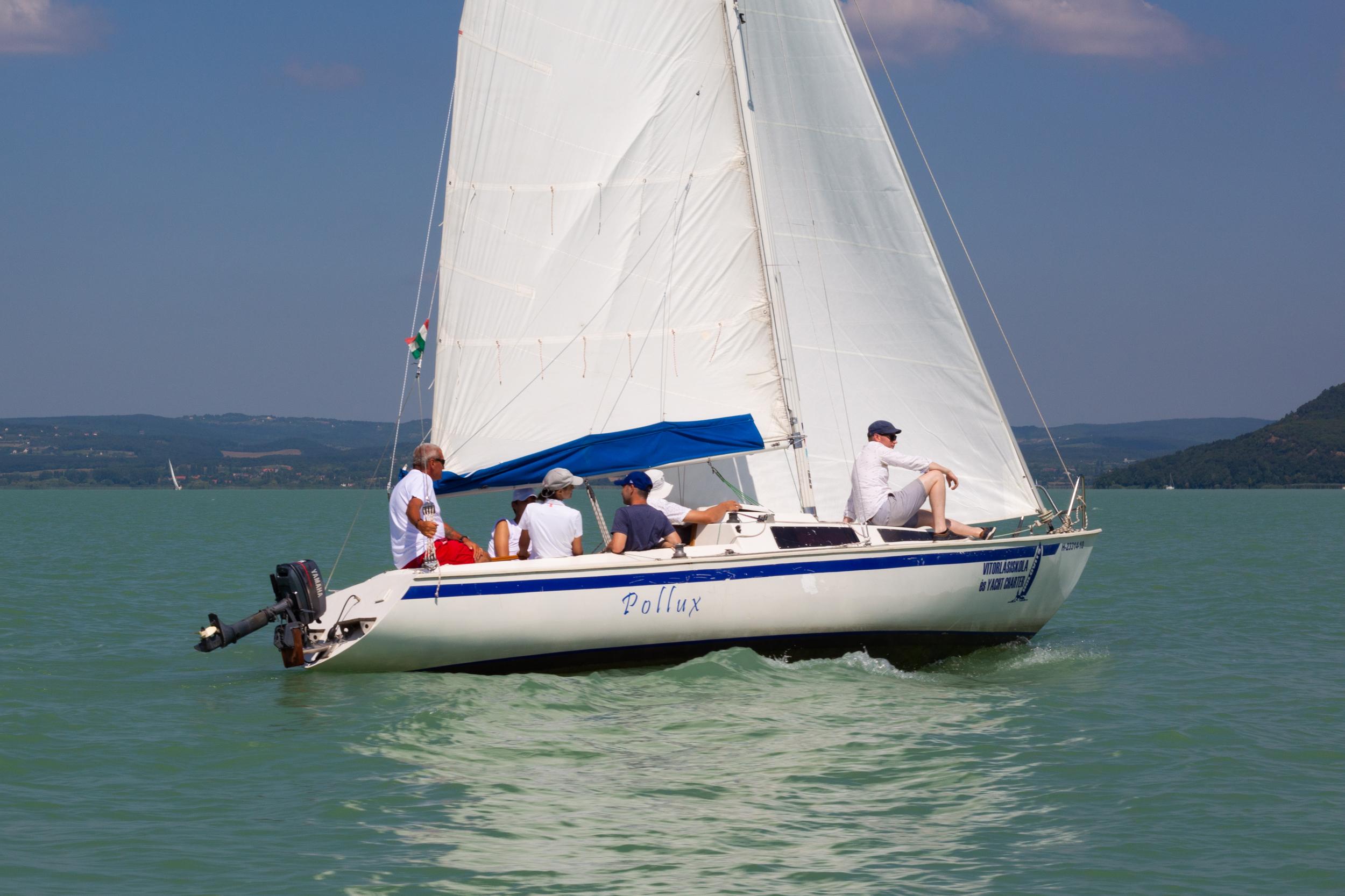 vitorlás hajó jogosítvány